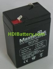 Bateria de Plomo 6 Voltios 4.5 Amperios 70x47x101mm